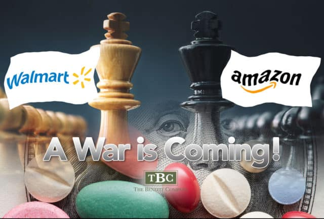 Amazon versus Walmart in Healthcare Wars