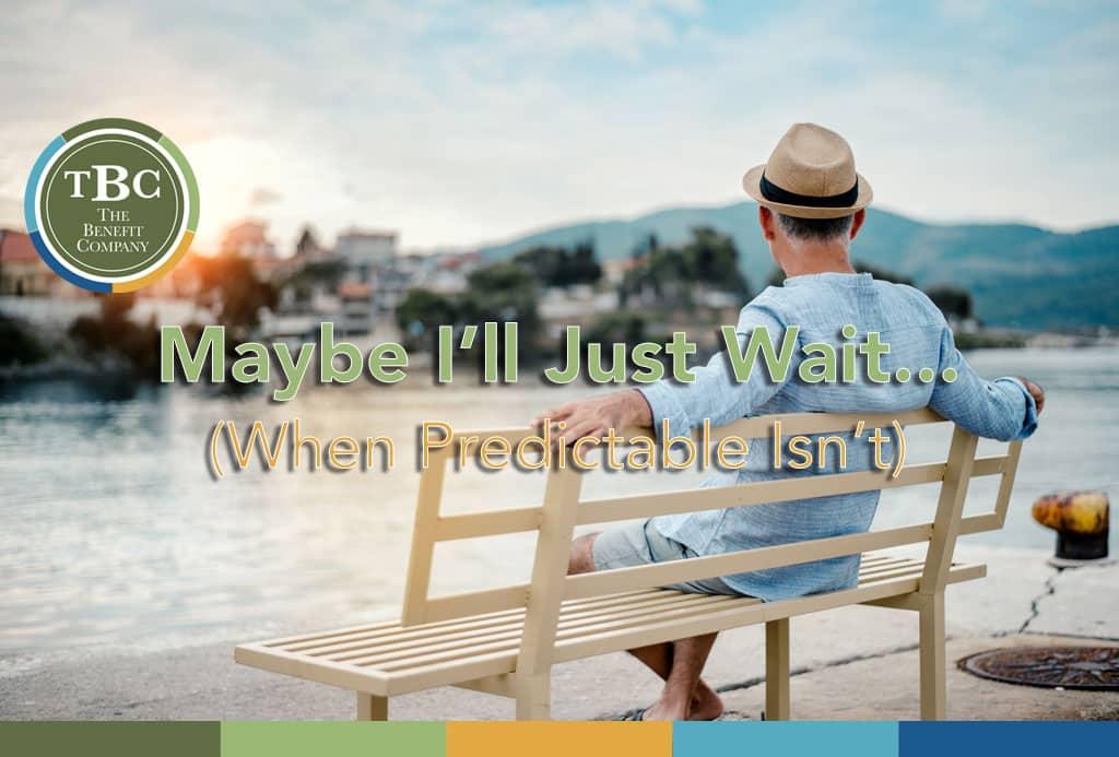 When predictable isn't